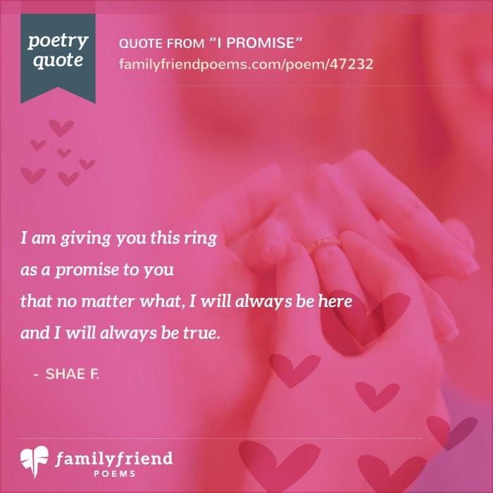 Promise Ring Poem, I Promise
