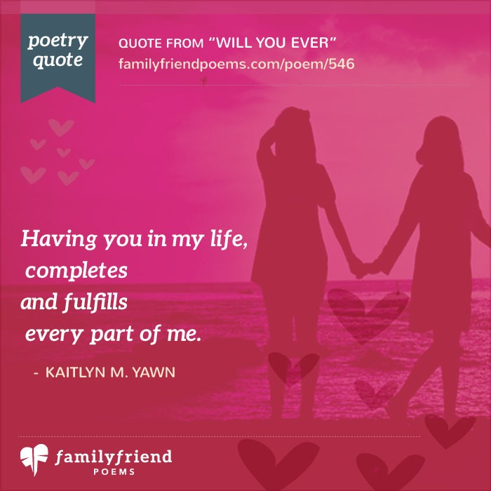 39 special friend poems