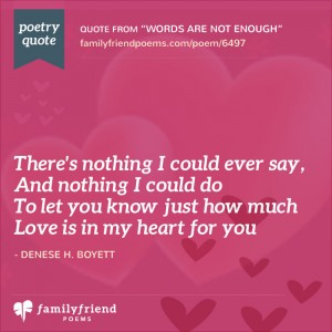 39 marriage poems love