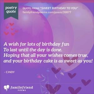 64 birthday poems happy