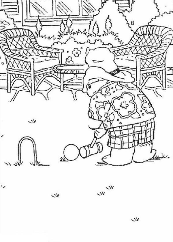 Paddington Bear Colouring Pages Free To Print and Colour