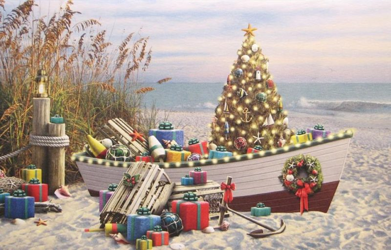 Christmas At The Cove At The Fishermans Market In Eastern