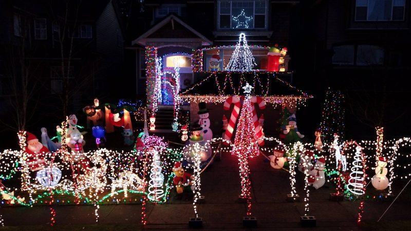 Christmas Light Displays in Metro Vancouver