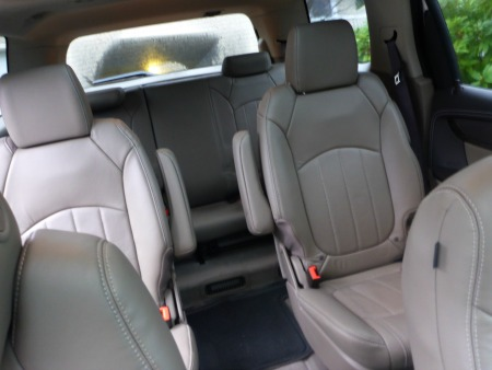 gmc acadia with captains chairs striped club chair third row seat ford explorer ebay | autos post