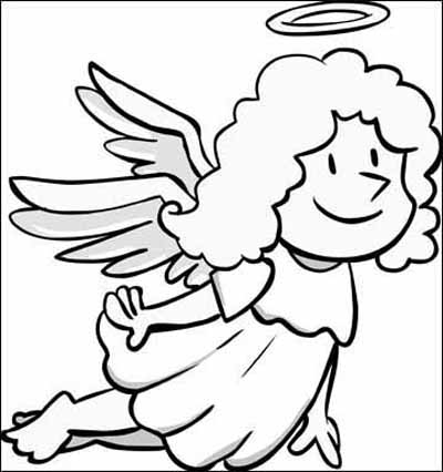 Angel Coloring Pages For All Kids Creative.