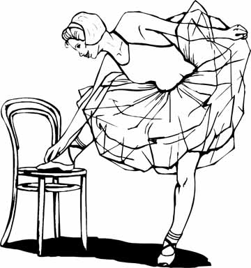 Original Ballet Coloring Pages You Are Going To Color in