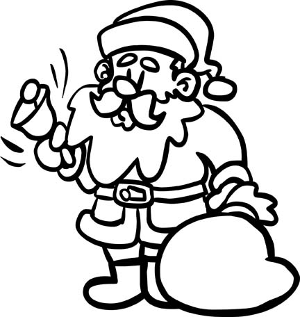 Christmas Coloring Pages For Happy Holidays