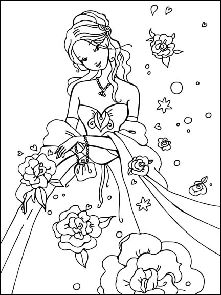 Beautiful Cinderella Coloring Pages Tell the Story