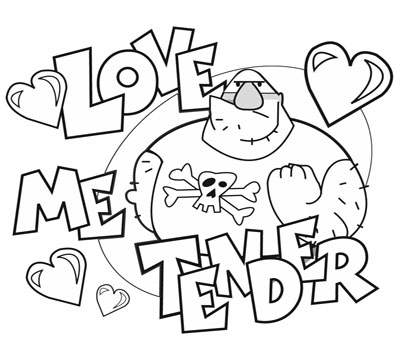 Love Coloring Pages Spread The Color of Your Heart