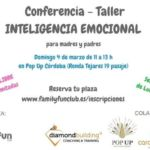 conferencia inteligencia emocional familia niños ludoteca emociones