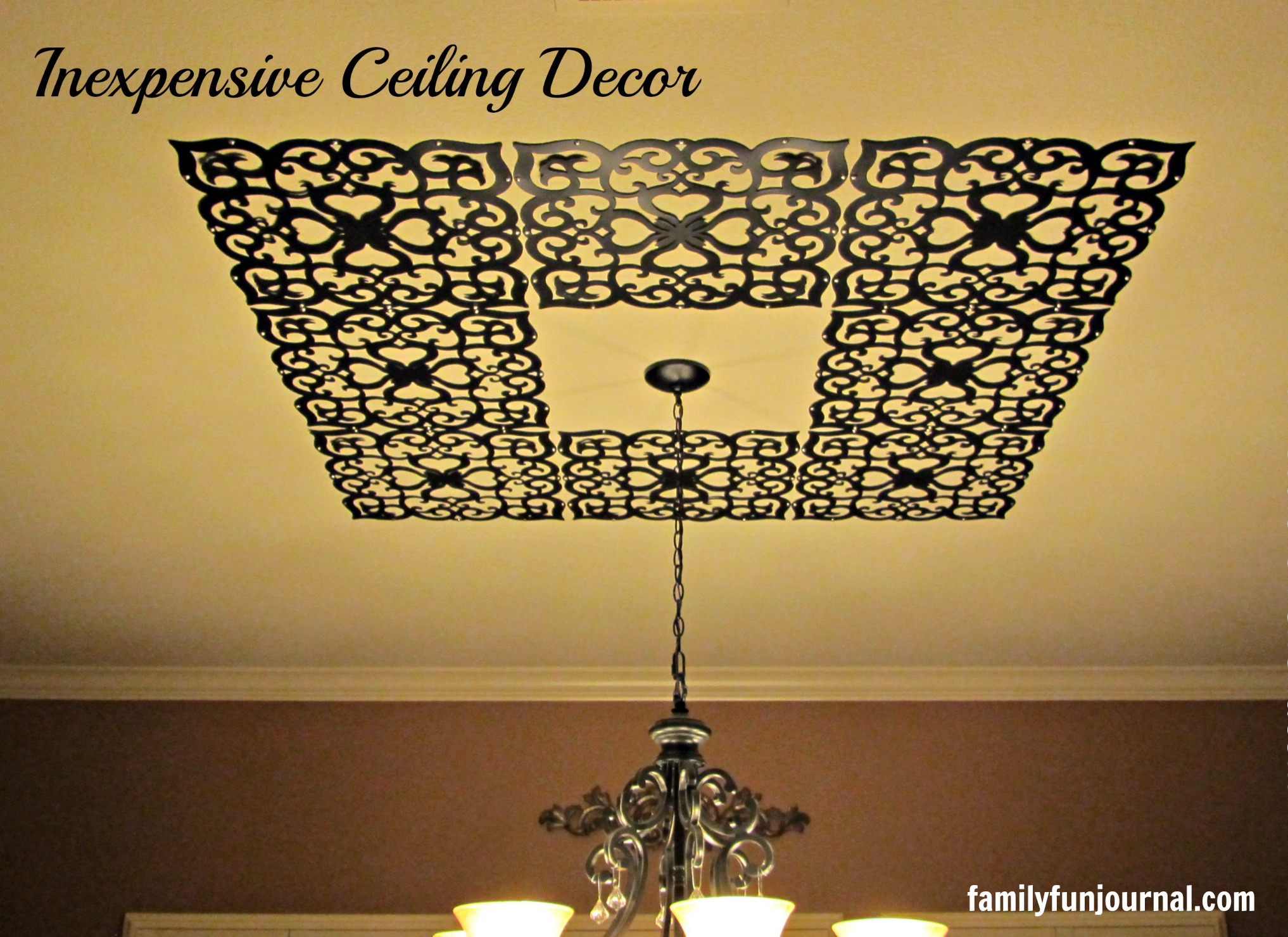 Container Store Ceiling Decor  Family Fun Journal