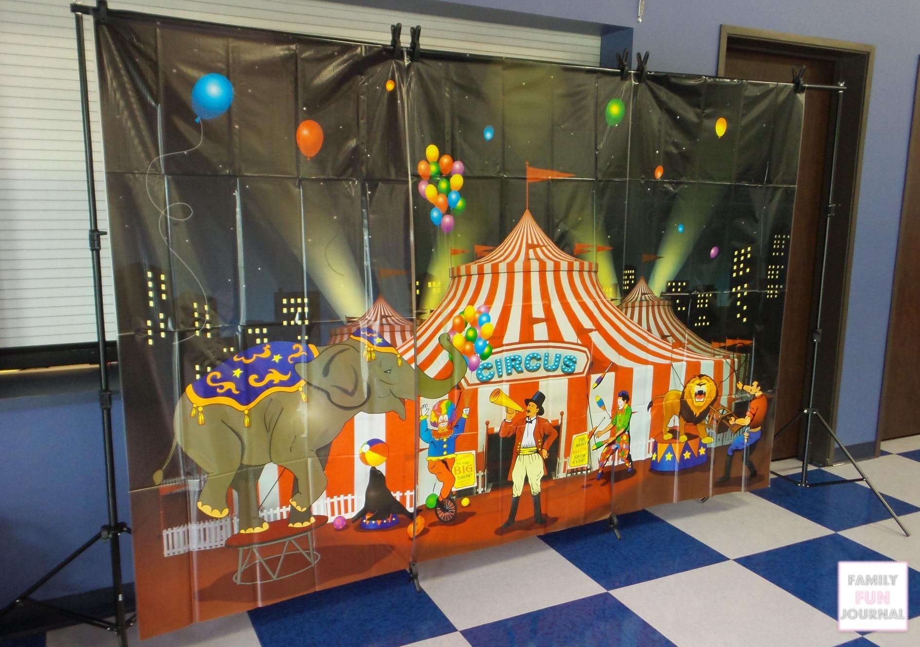 Circus Birthday Party Supplies Family Fun Journal