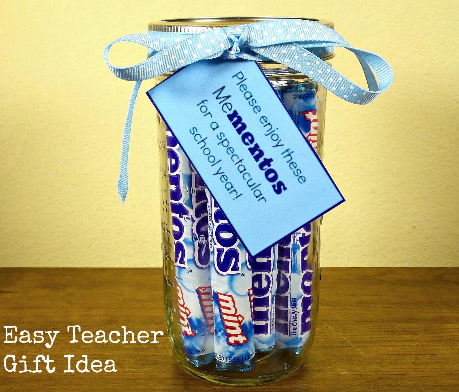 Easy Teacher Gift Idea Family Fun Journal