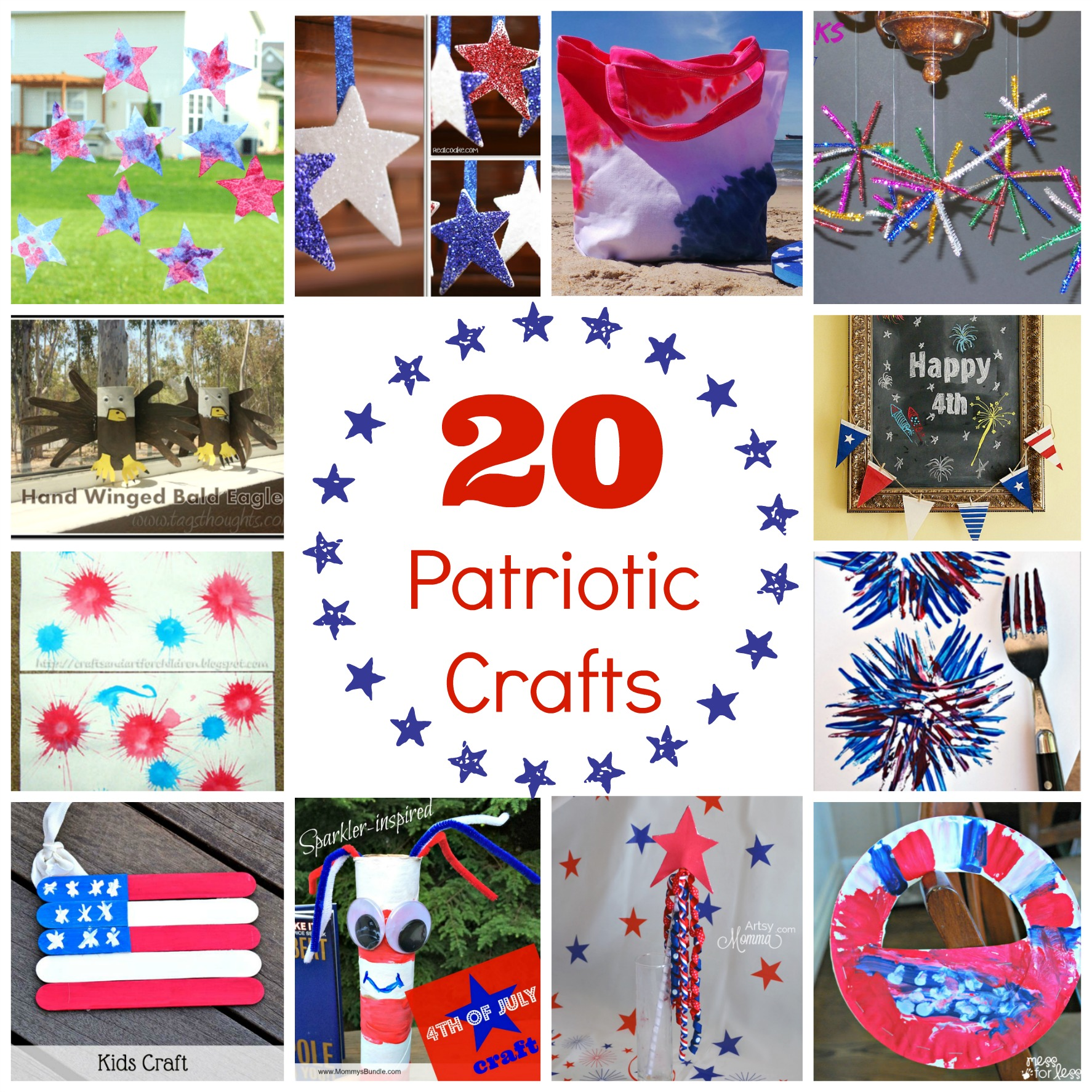 Kid Friendly 4th Of July Crafts