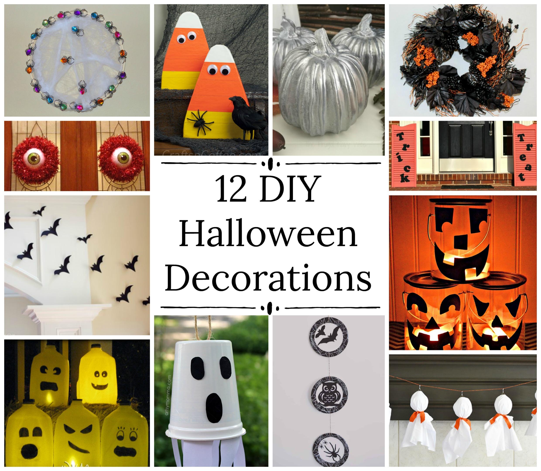 12 Easy Diy Halloween Decorations Family Fun Journal