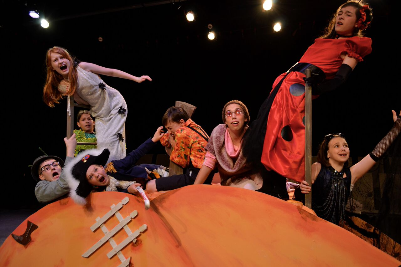 James And The Giant Peach Opens Today At Open Window Theatre