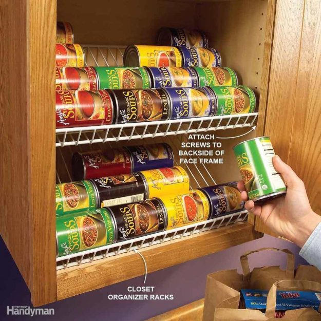 clever kitchen cabinet & pantry storage ideas | family handyman