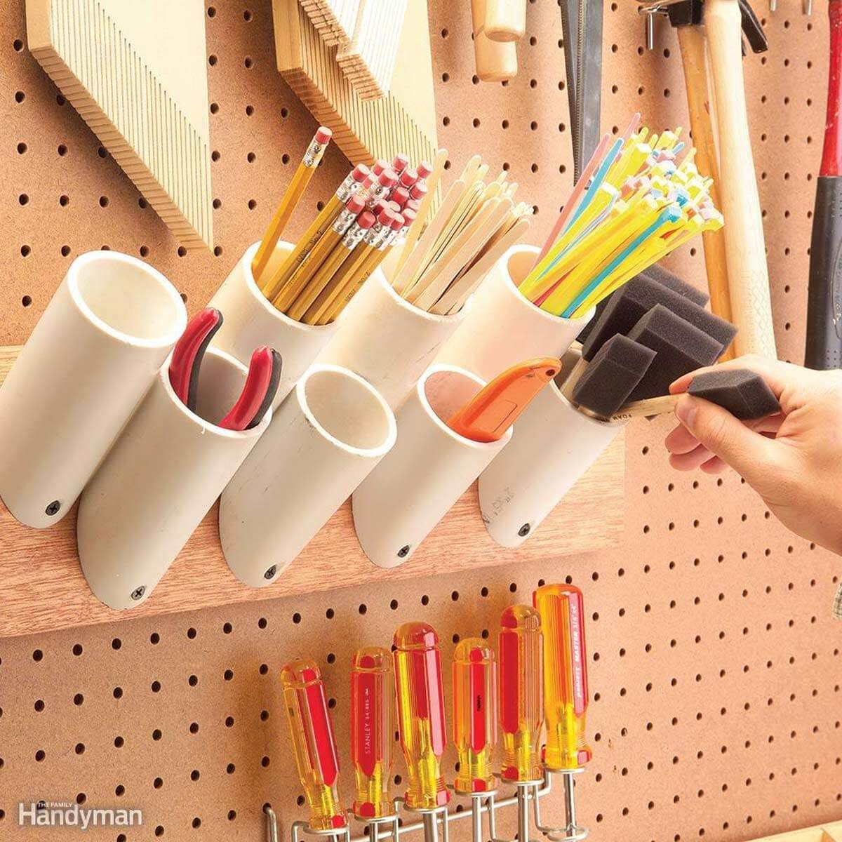 Nail And Screw Storage Ideas