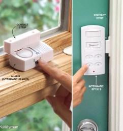 add inexpensive door and window alarms [ 1000 x 1000 Pixel ]