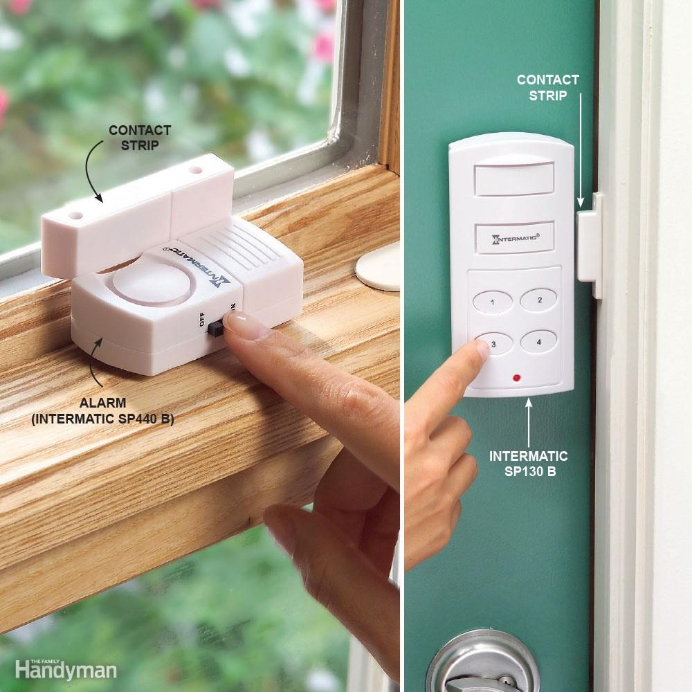 hight resolution of add inexpensive door and window alarms