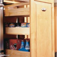 7 Roll-Out Cabinet Drawers You Can Build Yourself | Family ...