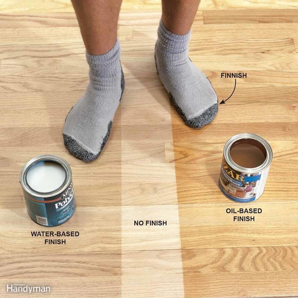 Amber Shellac On Pine Floors