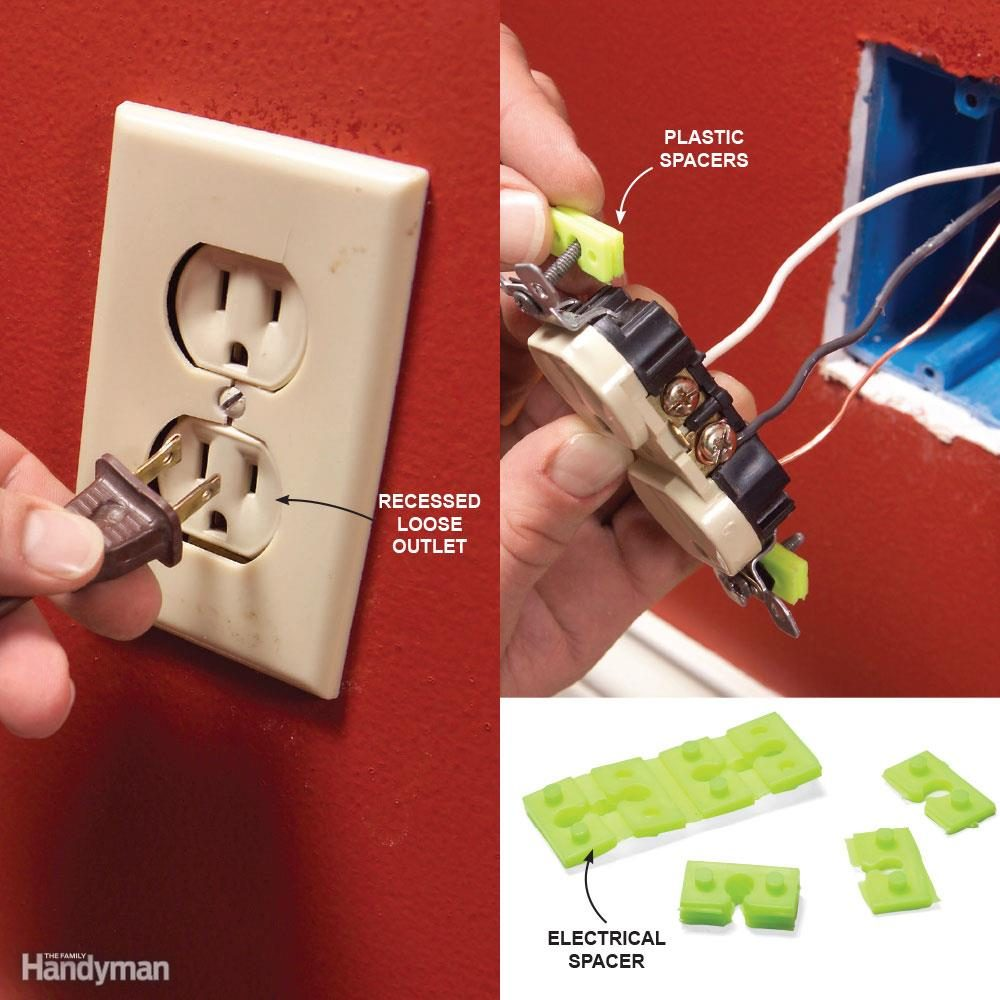 hight resolution of mistake 4 poor support for outlets and switches