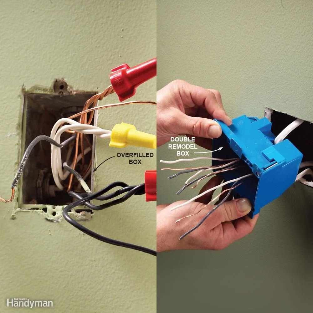 hight resolution of mistake 8 overfilling electrical boxes
