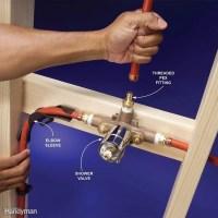 Plumbing With PEX Tubing   The Family Handyman