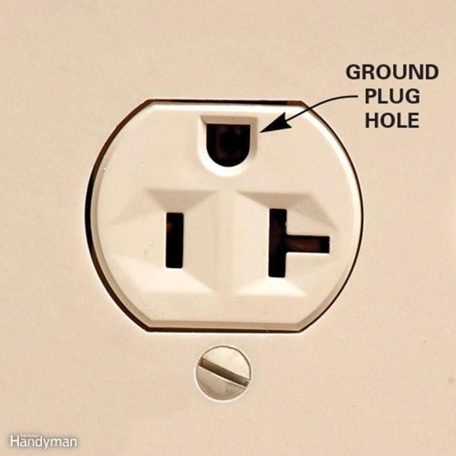 small resolution of ground hole down or up