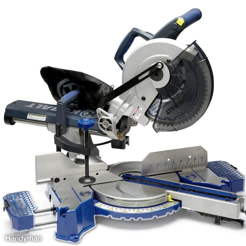 Sliding Miter Saw Review Kobalt