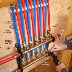 Pex Plumbing Diagram Wiring For Hid Fog Lights Supply Pipe Everything You Need To Know The Family Handyman Do I Have Use Manifolds With