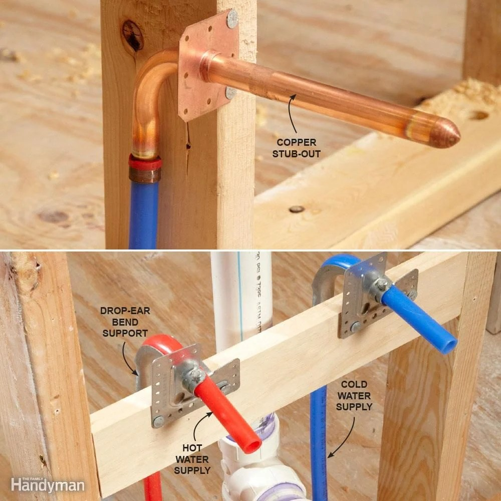 medium resolution of how do i connect pex to my plumbing fixtures