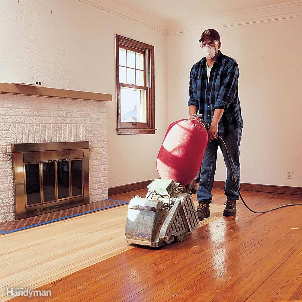 Using A Belt Sander On Hardwood Floors