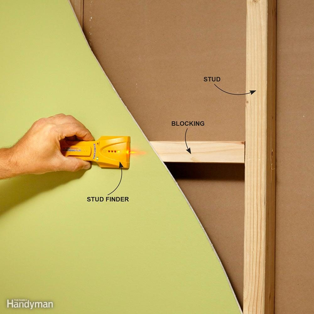 hight resolution of check the whole wall cavity with a stud finder