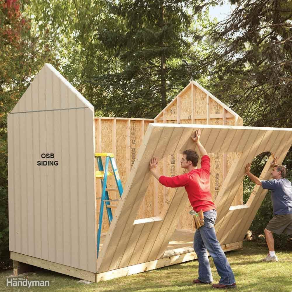 Attaching A Shed To A House