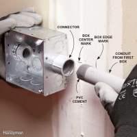 Installing PVC Conduit | The Family Handyman