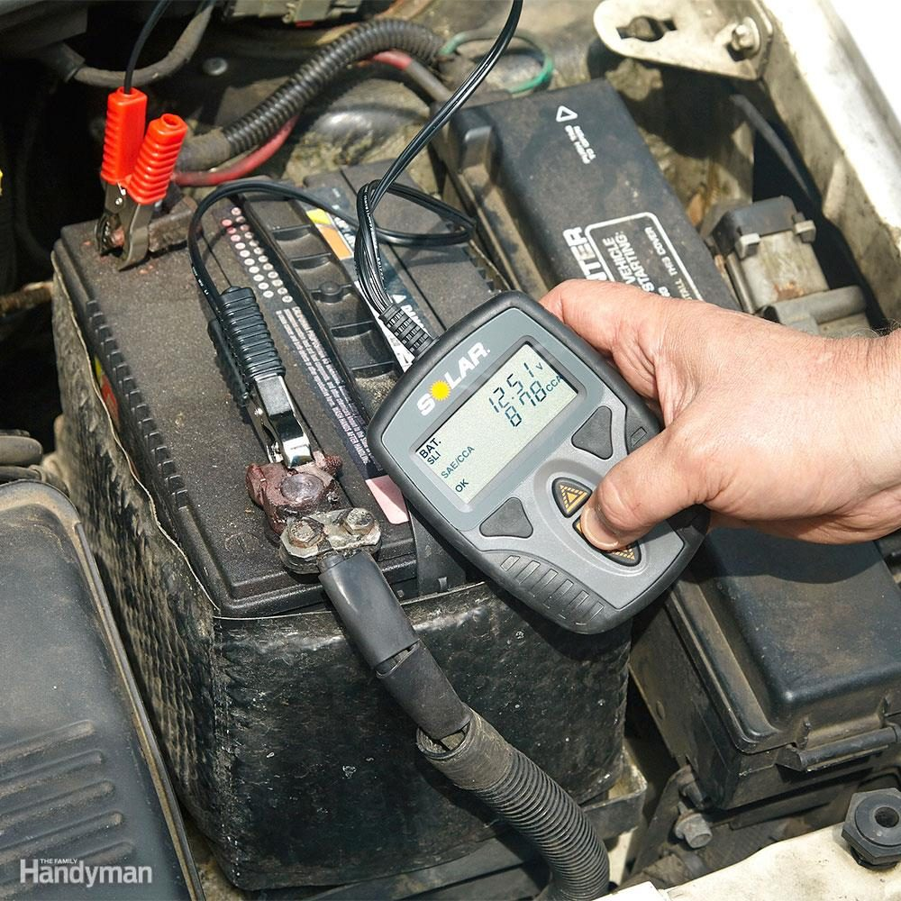medium resolution of test your car battery