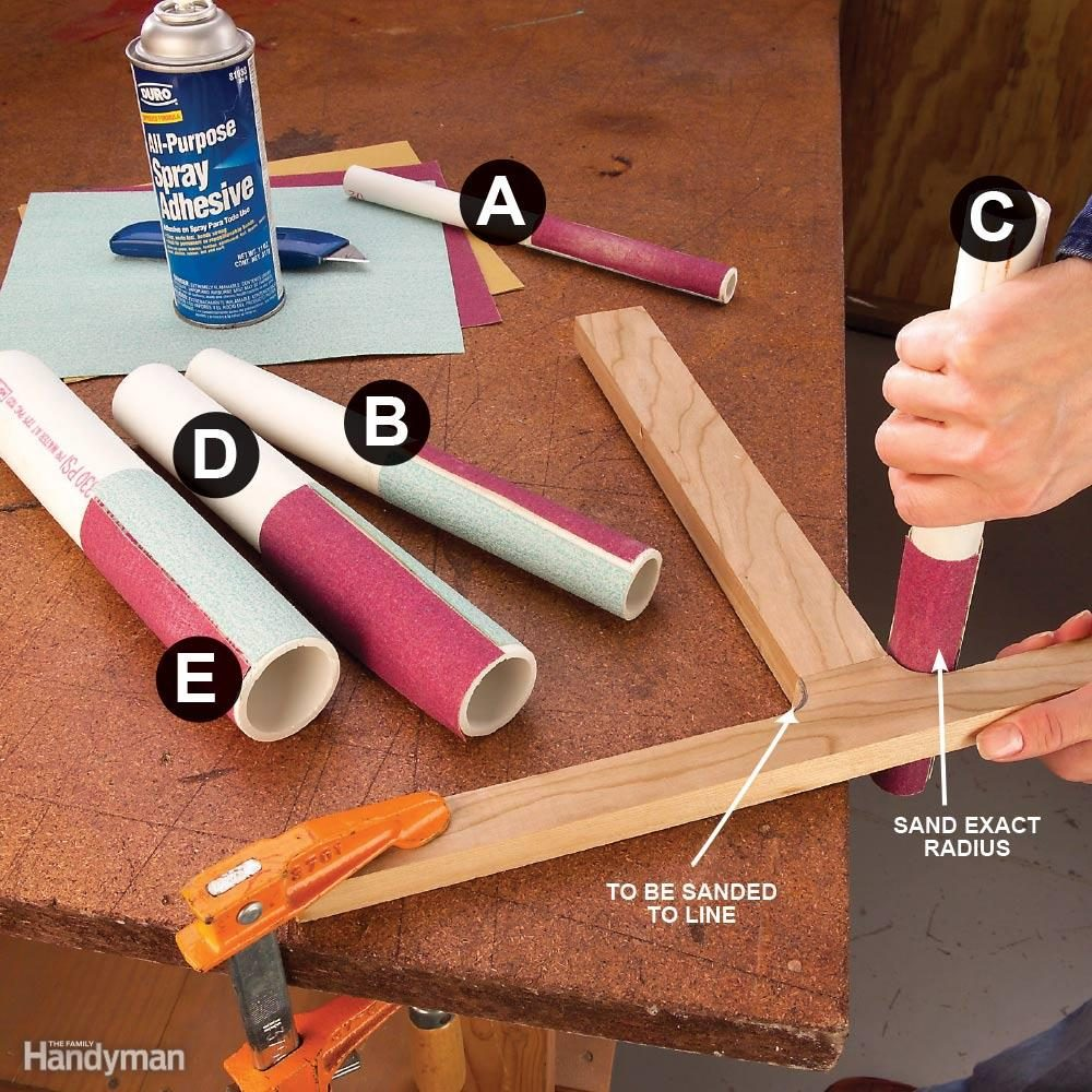 Attach Pvc To Wood