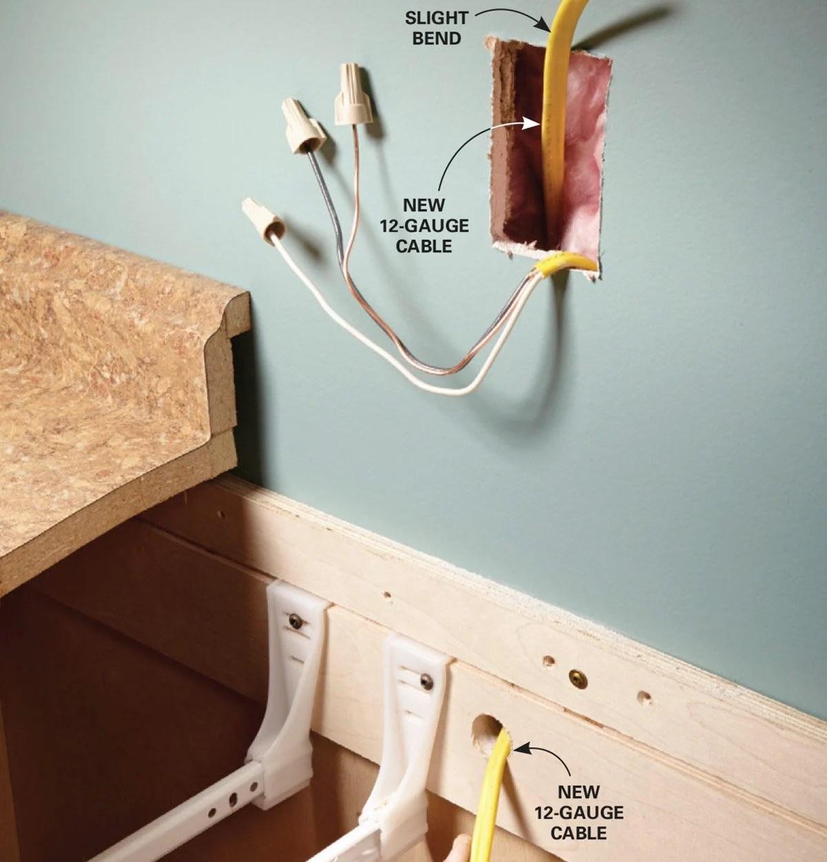 Kitchen Island Wiring Diagram