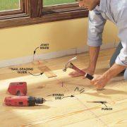 install pine floors family