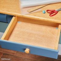 How to Line Drawers and Cabinets with Shelf Liners | The ...