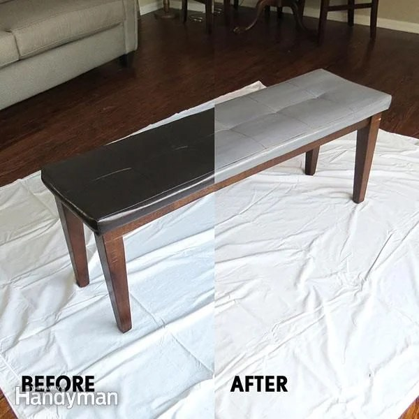 How to Paint Leather Furniture  The Family Handyman