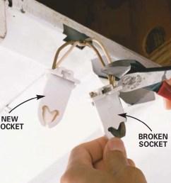 how to replace a fluorescent light bulb family handyman wiring fluorescent light sockets [ 1200 x 1200 Pixel ]