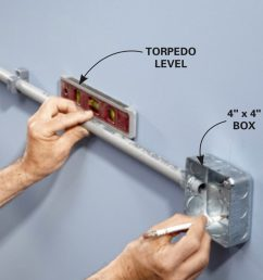 how to wire a finished garage family handyman receptacle wiring in garage [ 1200 x 1200 Pixel ]