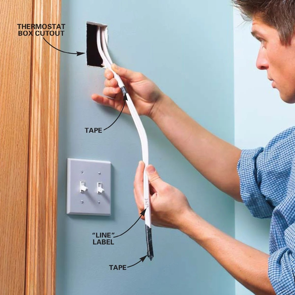Electric Baseboard Heat Install Contents How To Wire Electric