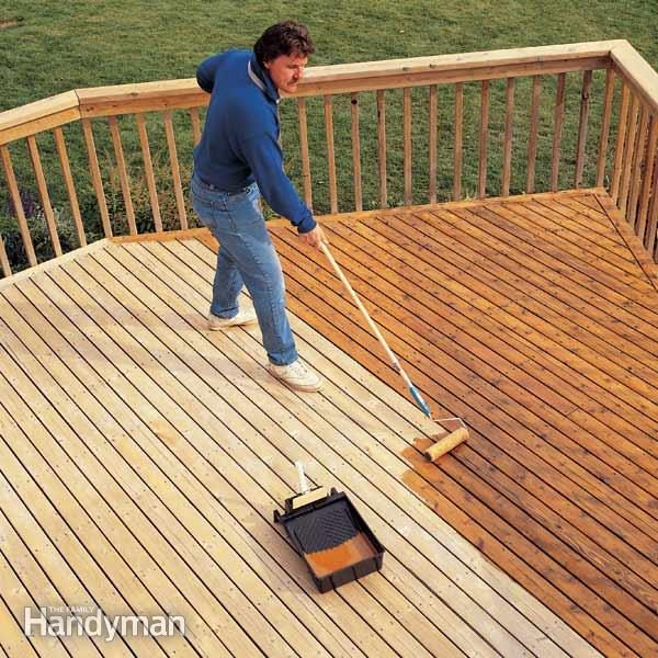 How To Get Oil Out Of Wood Deck