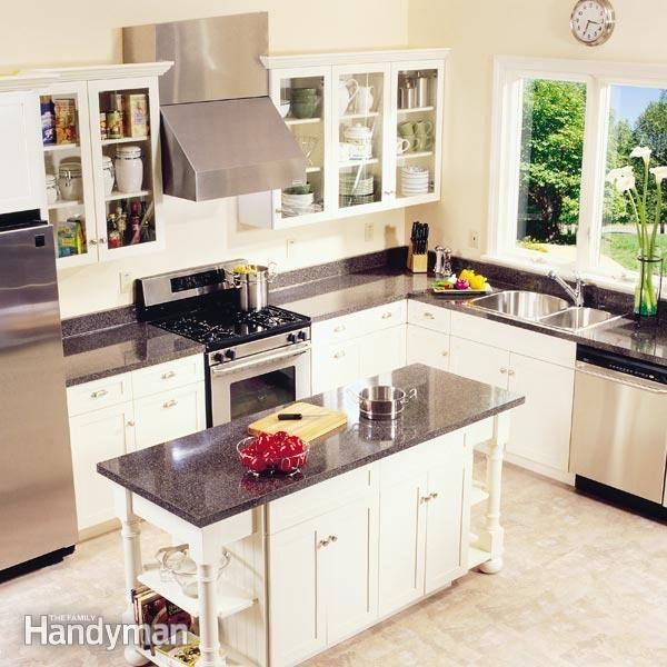 Frameless Kitchen Cabinets The Family Handyman