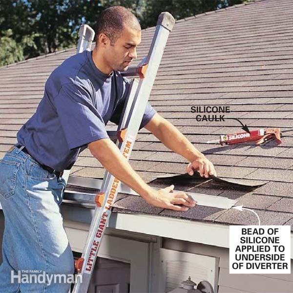 For Floor Furnace Wiring Diagram Add A Rain Diverter The Family Handyman
