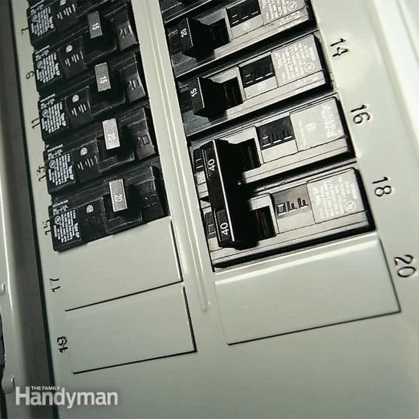 electrical sub panel wiring diagram euglena labeled testing a circuit breaker for 240 volt service